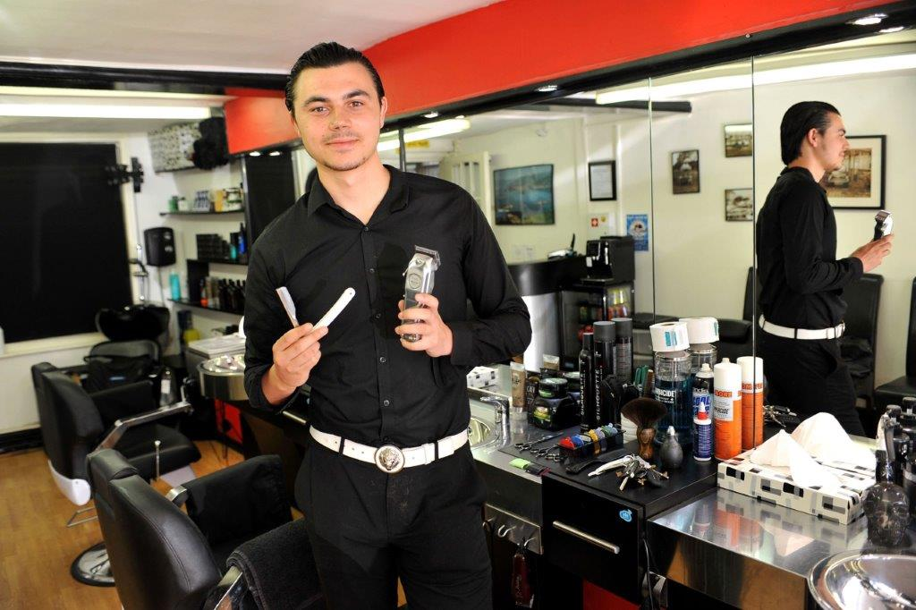 Winning barber apprentice says he found his passion the minute he picked up a set of hair clippers