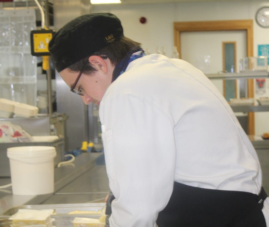 Bespoke Sous Chef learning programme for Luke