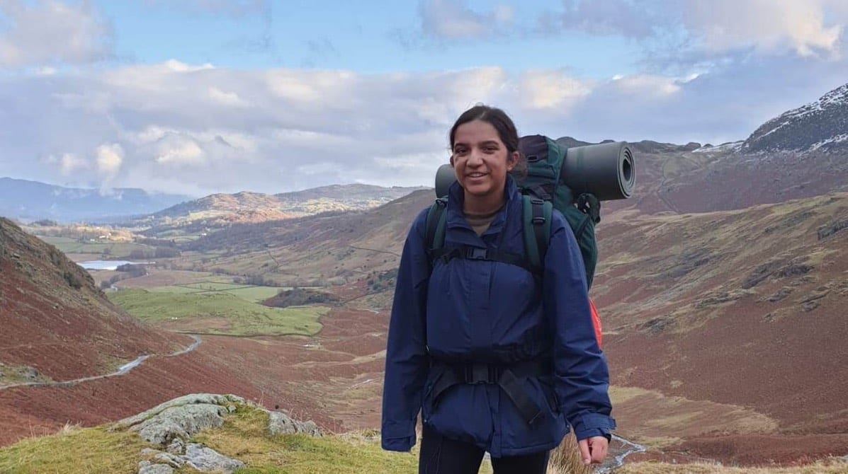 Public Services student, Shukti, reaches Gold in her Duke of Edinburgh Award