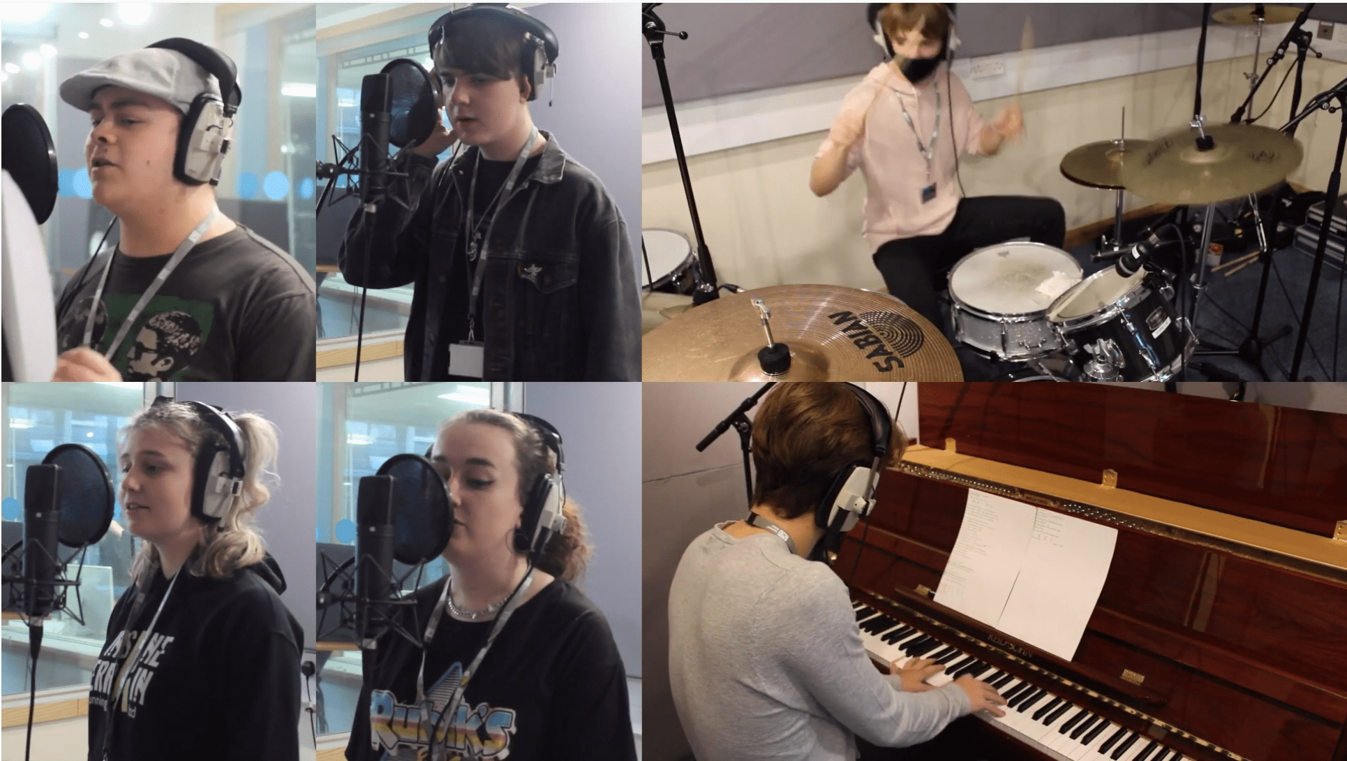 Music students release charity single in support of the fight against Covid-19