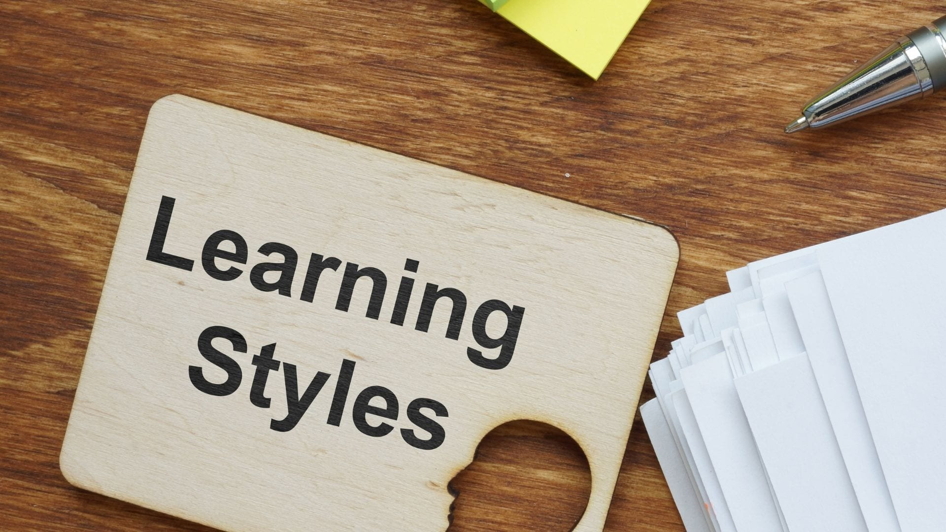 Do I have a learning style?