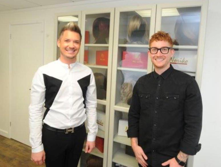 Former hairdressing apprentices celebrate ten years in the industry