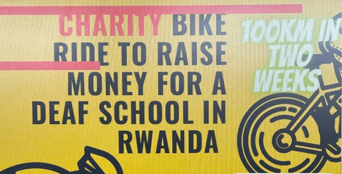 Business student supports deaf children in Rwanda