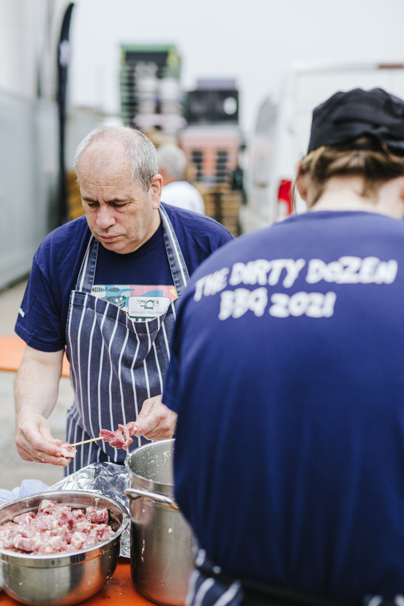 The Dirty Dozen support celebrity chefs
