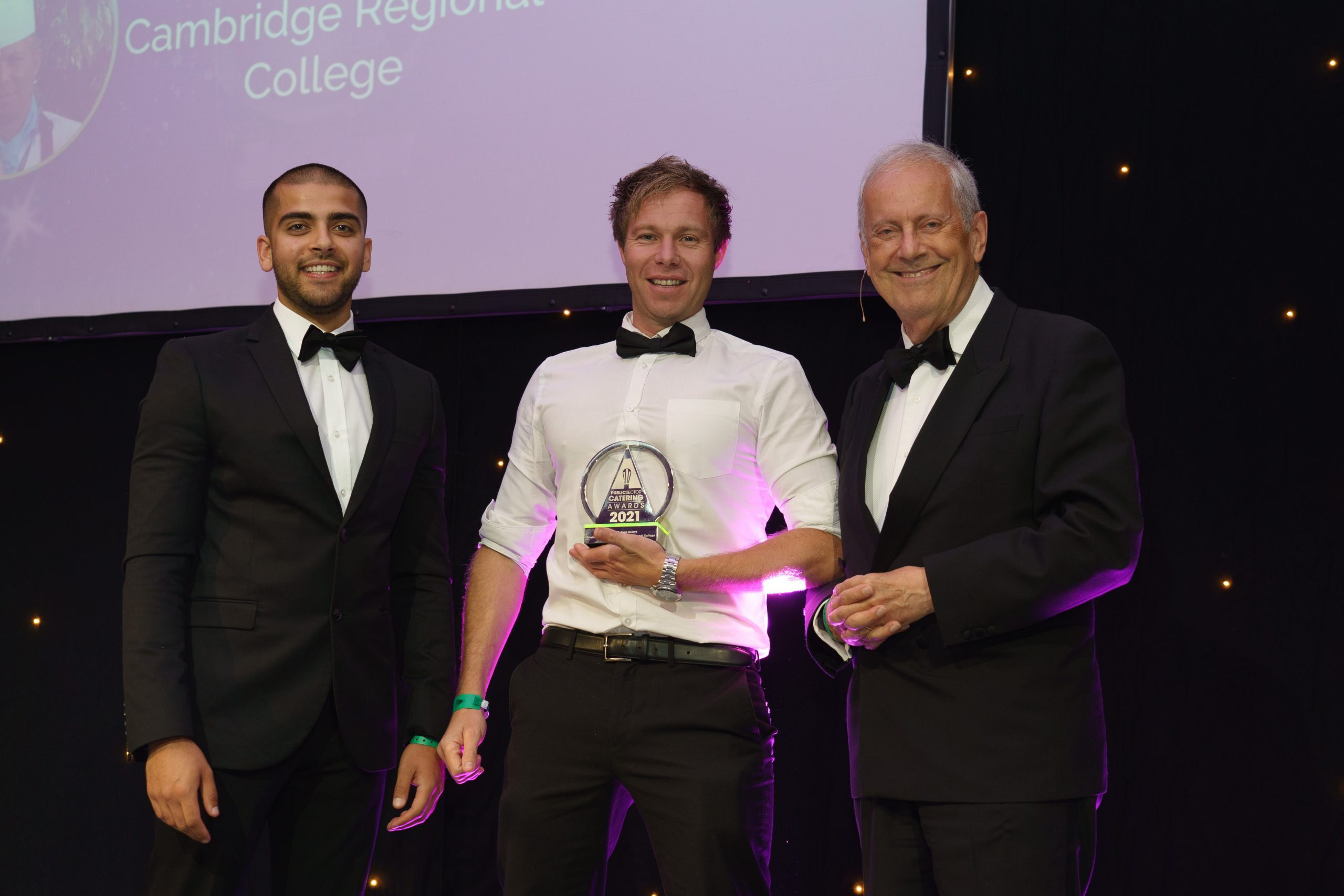 CRC awarded Catering College of the Year