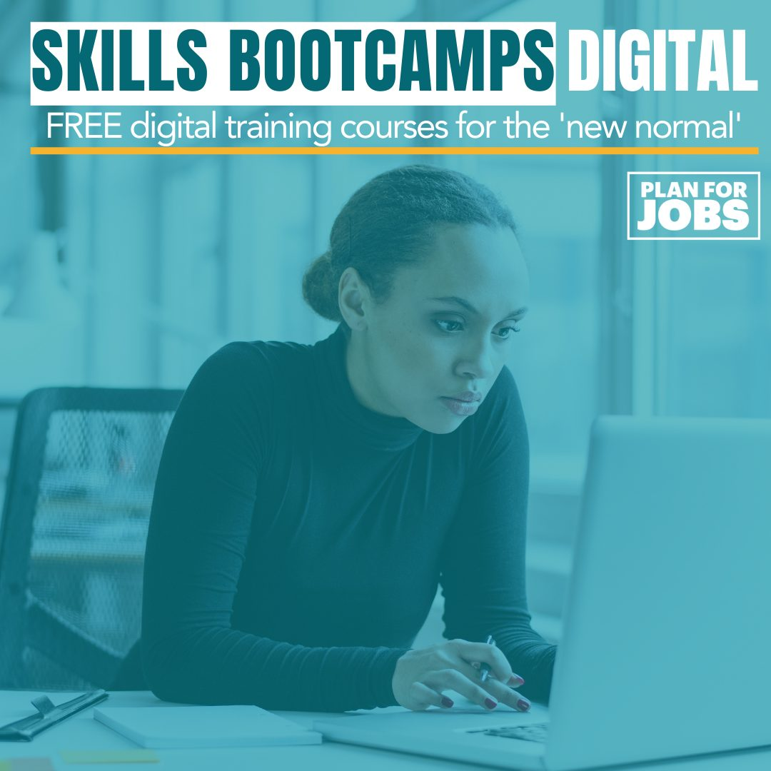 Skills Bootcamps in Digital launched at CRC