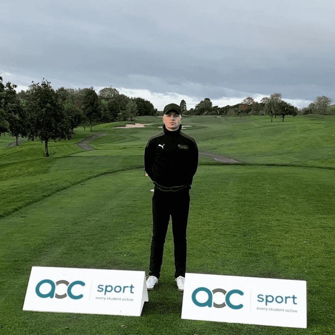 Sports student crowned AoC Golf Champion